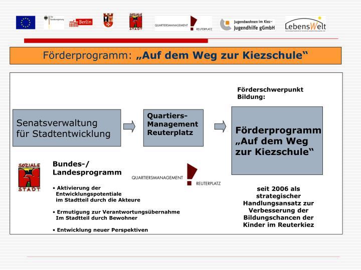 Förderprogramm: