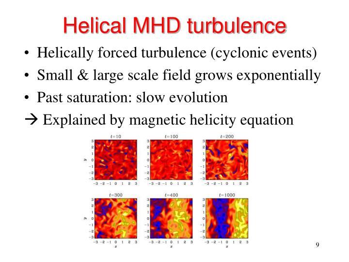 Helical MHD turbulence