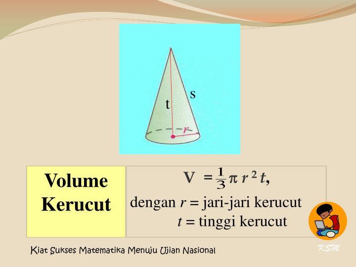 Volume Kerucut