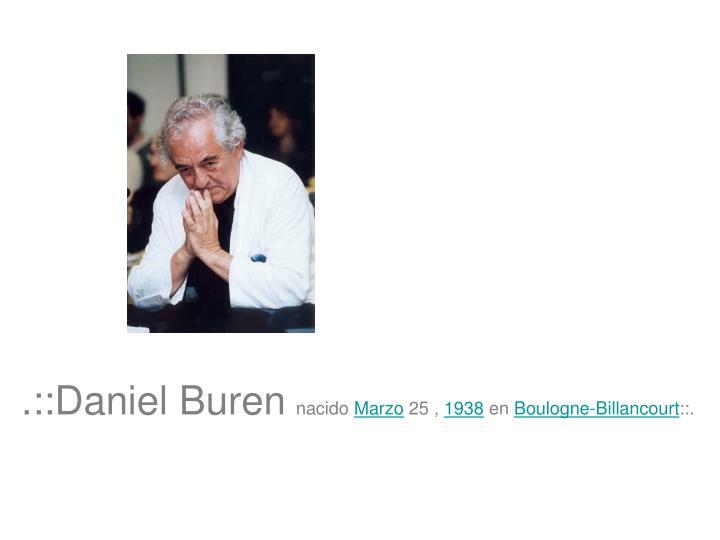 .::Daniel Buren