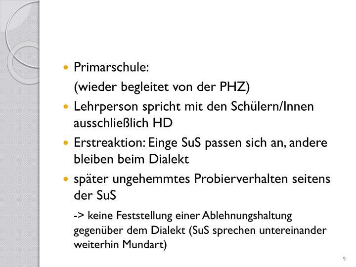 Primarschule: