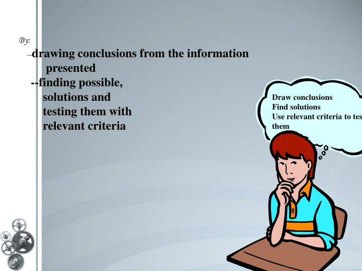 critical thinking presentation powerpoint