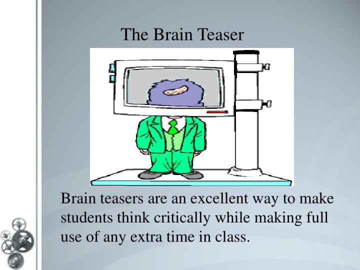 critical thinking brain teasers for college students Math downloadable and printable help pages designed for students critical thinking - worksheets click here to go back to the main critical thinking page.