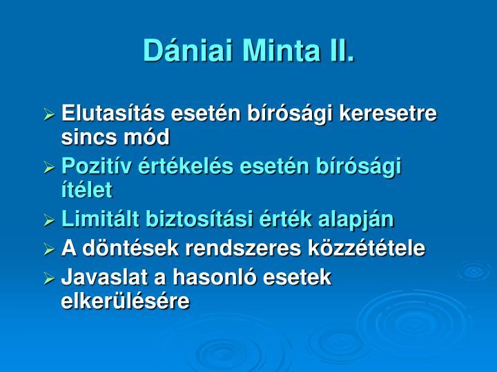 Dániai Minta II.