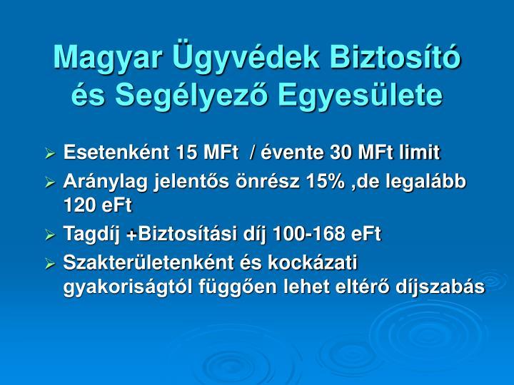 Magyar Ügyvédek Biztosító és Segélyező Egyesülete