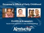 governor s office of early childhood