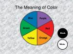 the meaning of color