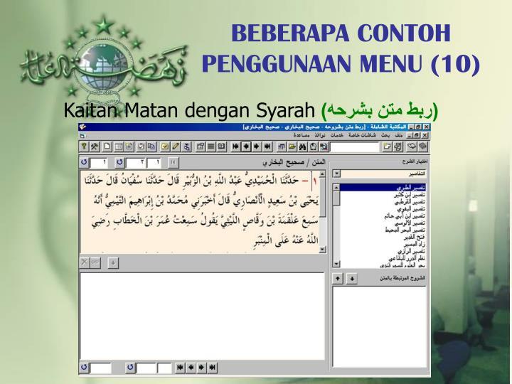 BEBERAPA CONTOH PENGGUNAAN MENU (10)