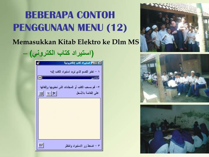 BEBERAPA CONTOH PENGGUNAAN MENU (12)