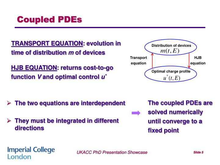 Coupled PDEs