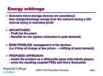 energy arbitrage