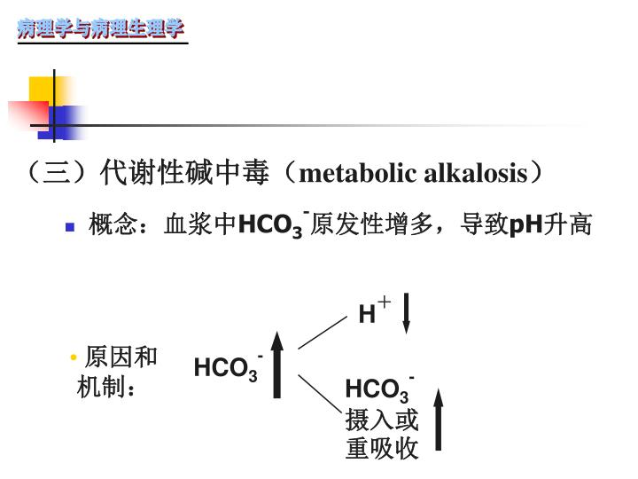 (三)代谢性碱中毒(