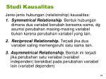 studi kausalitas1