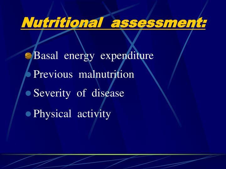 Basal  energy  expenditure