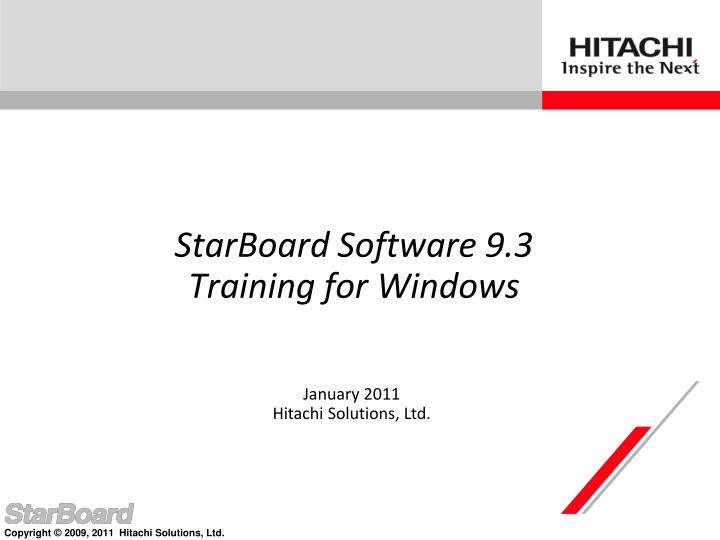 Starboard software 9 3 training for windows