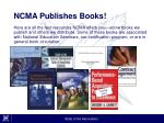 ncma publishes books