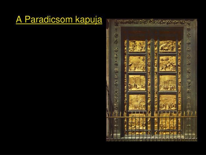 A Paradicsom kapuja
