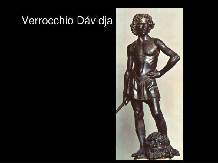 Verrocchio Dávidja