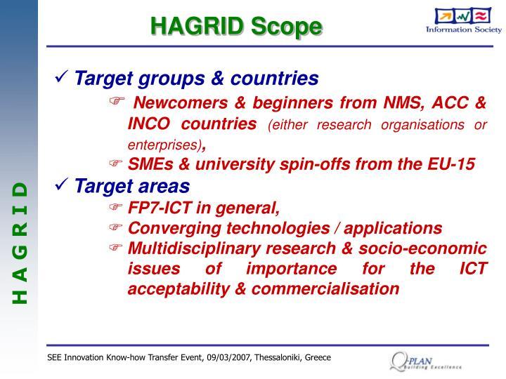 HAGRID Scope