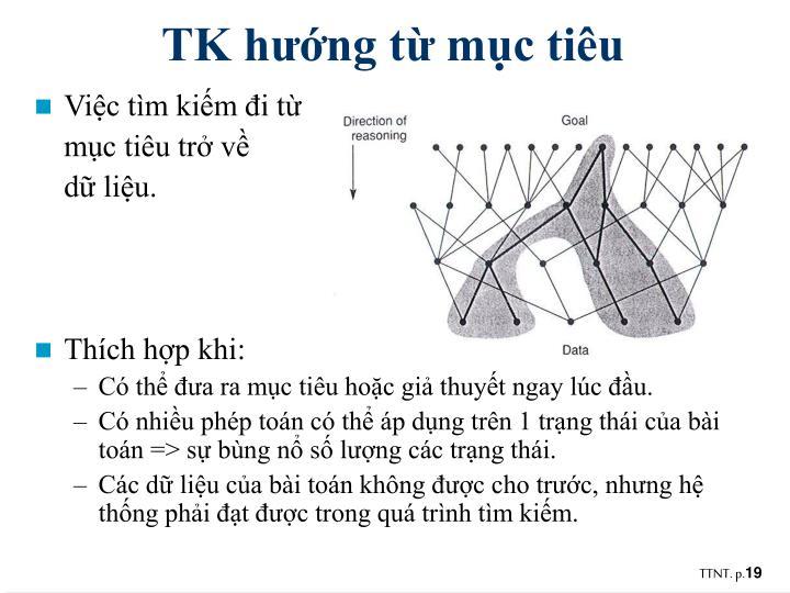 TK hướng từ mục tiêu