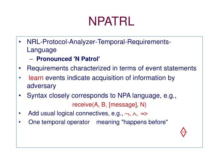 NPATRL