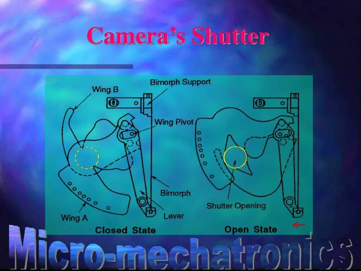 Camera's Shutter