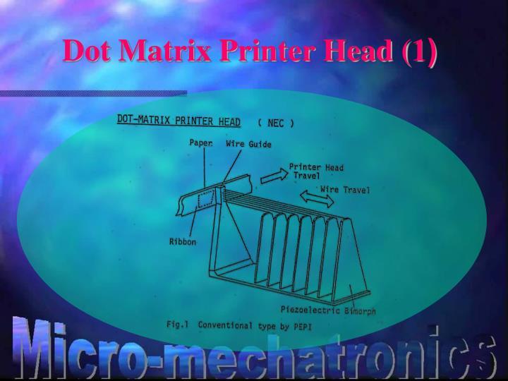 Dot Matrix Printer Head (