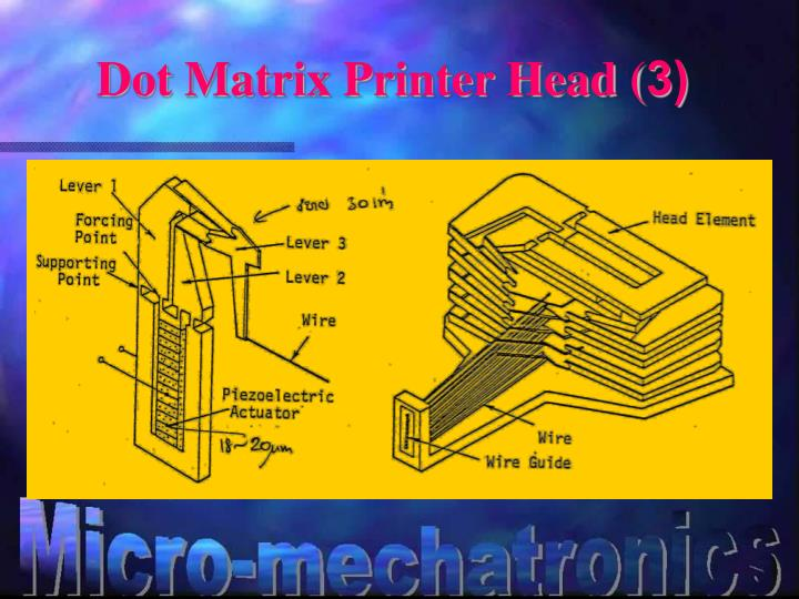 Dot Matrix Printer Head (3)