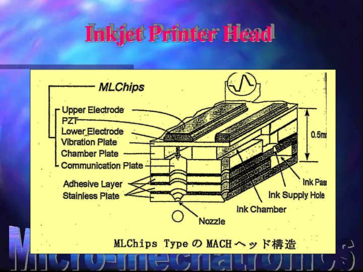 Inkjet Printer Head