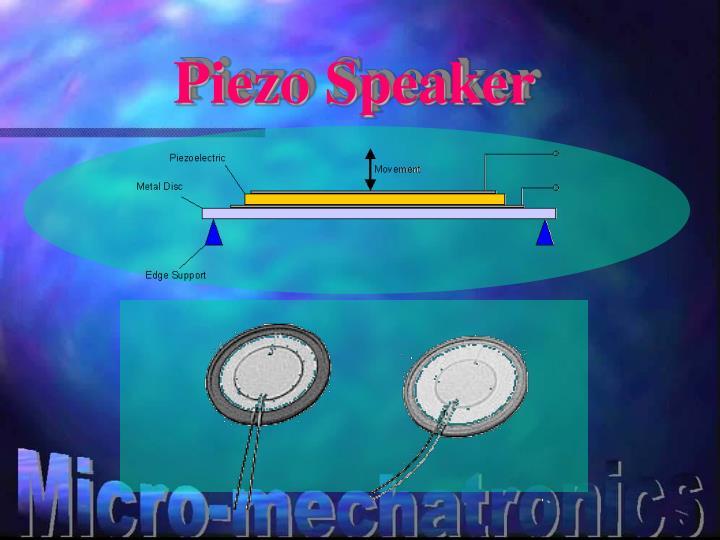 Piezo Speaker