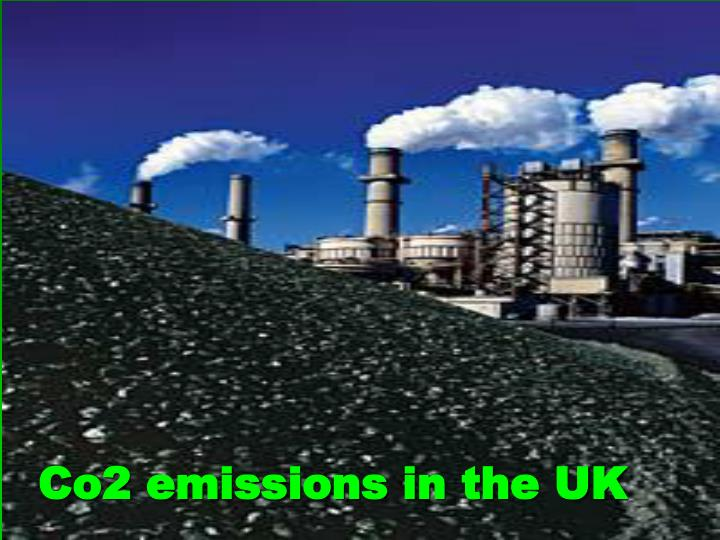 Co2 emissions in the uk