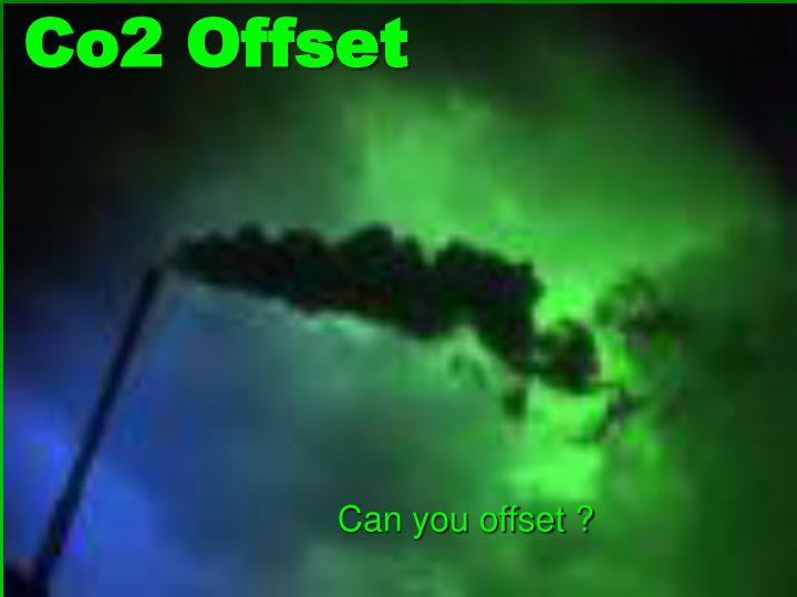 Co2 offset