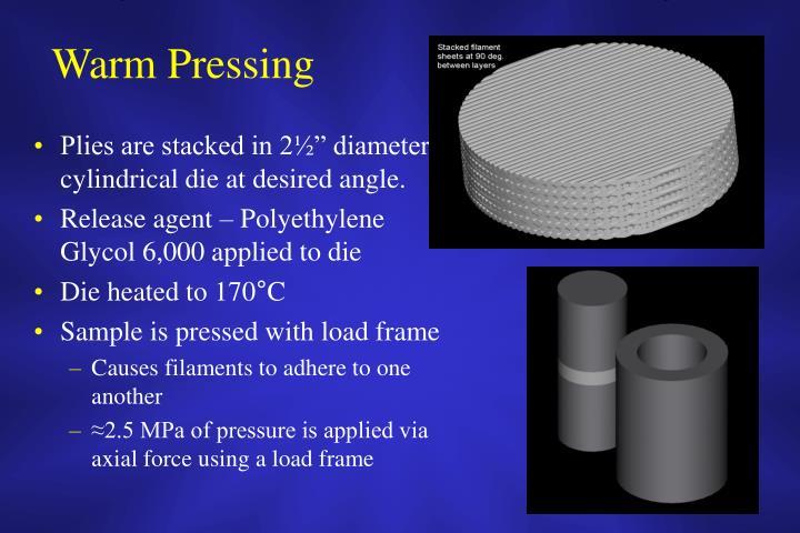 Warm Pressing