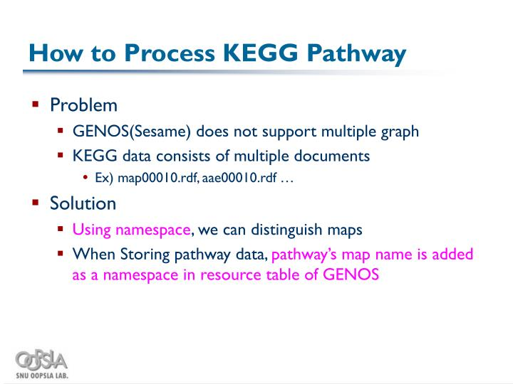 How to Process KEGG Pathway