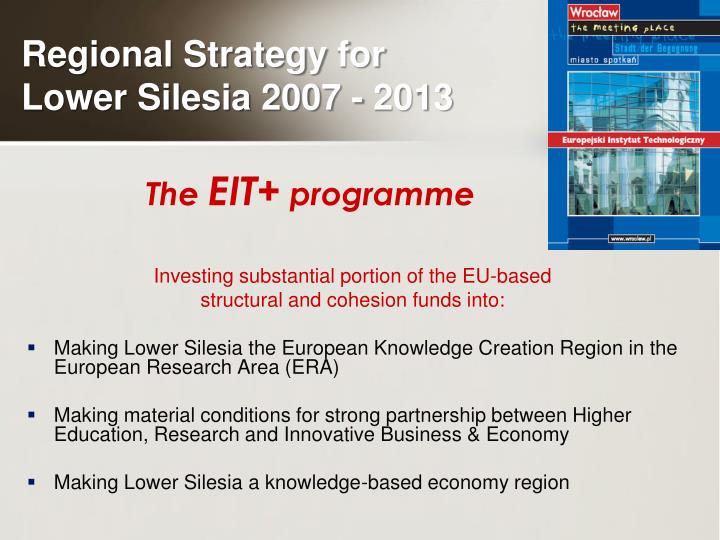 Investing substantial portion of the EU-based