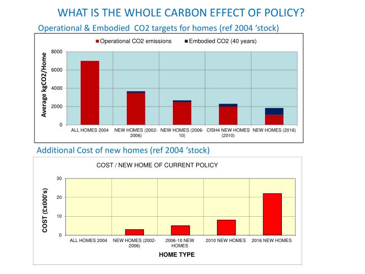 WHAT IS THE WHOLE CARBON EFFECT OF POLICY?