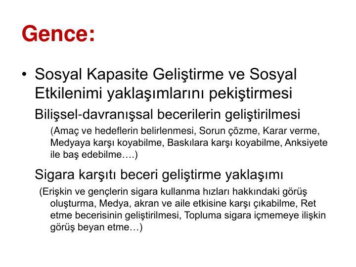 Gence: