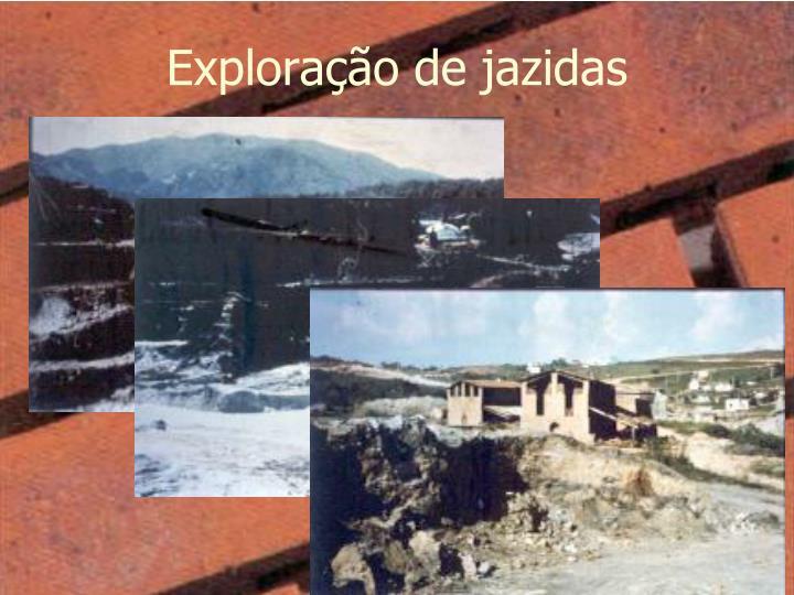 Exploração de jazidas