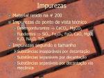 impurezas