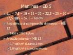manilhas eb 5