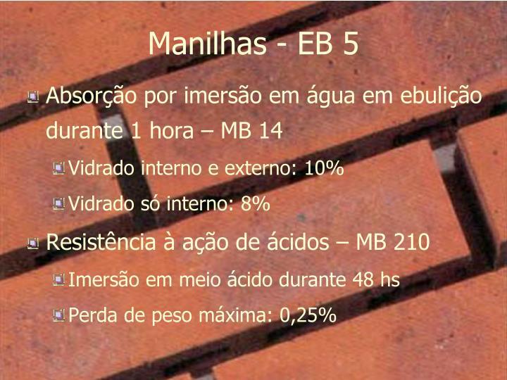 Manilhas - EB 5
