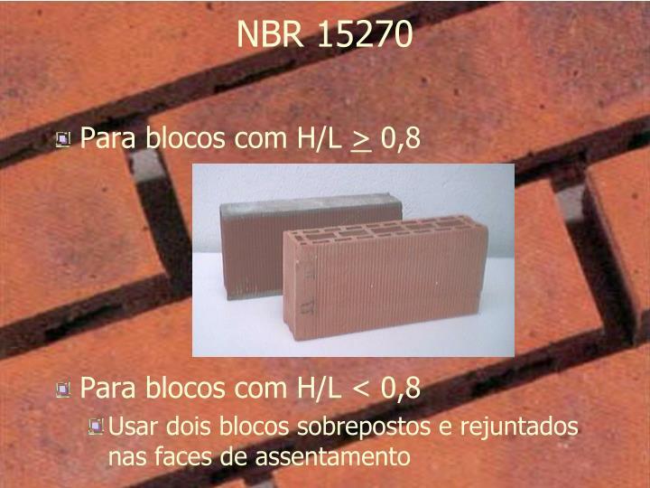 NBR 15270