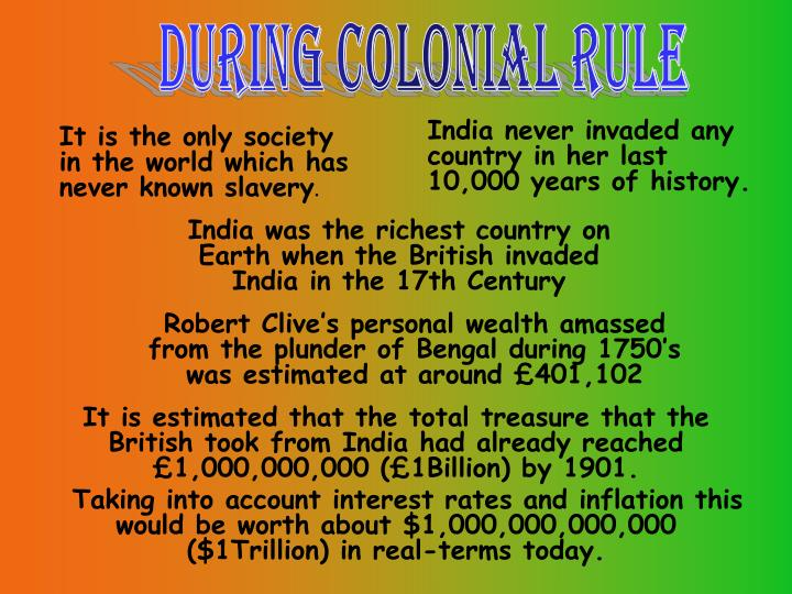 India never invaded any country in her last 10,000 years of history.