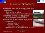 minimum standards2