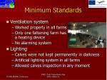 minimum standards3