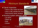 minimum standards4