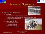 minimum standards5