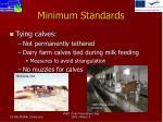 minimum standards6