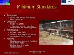minimum standards7