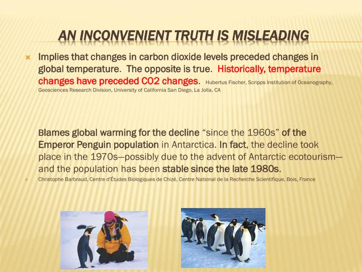 Implies that changes in carbon dioxide levels preceded changes in global temperature